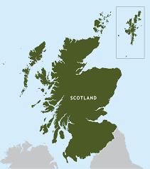 Scotland Outline Map Preview Editable Vector