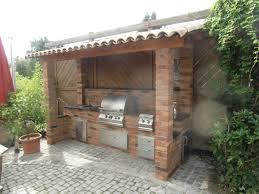 outdoor kuche selber bauen mauern caseconrad