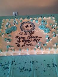 nightmare before christmas baby shower cake ethan s nightmare