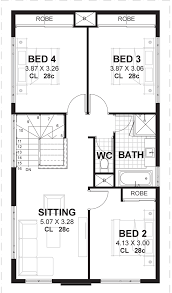 100 10 Metre Wide House Designs 2 Storey Narrow Lot Home Design For M Blocks Vision One Homes