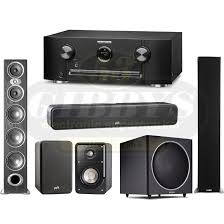 SR5012 Home Theatre Receiver w Polk Audio RTiA9 Floor Standing