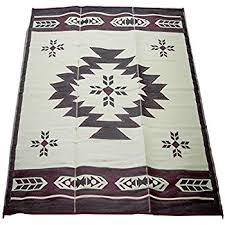 polypropylene patio mat 9 x 12 fireside patio mats navajo burgundy and beige 9