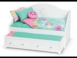 How to make your own American girl doll bed💤 making