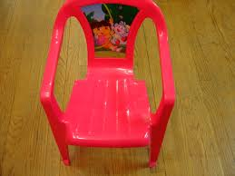 100 Playskool Plastic Table And Chairs Kids Only Pink Dora The Explorer IndoorOutdoor Chair