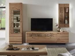 hartmann kvik vorschlagskombination 26 wohnwand in massivholz kernbuche mit hirnholzapplikation vierteilige wohnwand für wohnzimmer mit vitrine