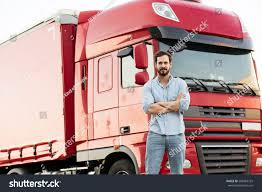 Handsome Masculine Truck Driver Standing Outside Stock Photo ... Producing A Confident Truck Driver With Driving Simulator Psd Trainee First Time A Youtube Truck Driver Reversing Shl Traing Solutions For Hvacr And Motor Carrier Industry It Aint Easy Being Tow In Vancouver Happy National Appreciation Week Transtex Llc Handsome Masculine Standing Outside Stock Photo Yogita Raghuvanshi Is Indias Ademically Overqualified 82yearold Got To Be Doing Something Donald Trump Pretended Drive At The White House What Expect Your Year As New