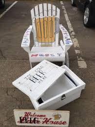 Custom Painted Margaritaville Adirondack Chairs by Custom Painted Margaritaville Adirondack Chairs