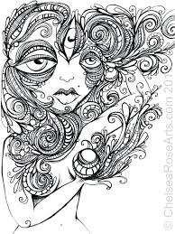 Trippy Sun Coloring Pages Challenging Page Free Adults Abstract Gallery Ideas Alien Tumblr