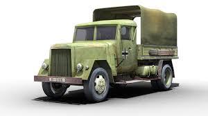 3D Asset German WWII Henschel Truck | CGTrader
