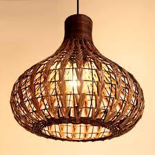 handmade 14 modern rattan ceiling light l living lights