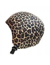 leopard housse de casque ski the mask helmet