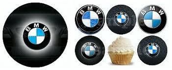 bmw auto essbar tortenaufleger deko tortenbild muffin