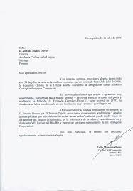 Ejemplo De Carta Formal En Inglés Ejemplos De