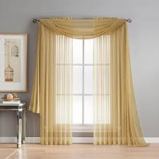 Plum And Bow Lace Curtains by Window Scarves U0026 Valances Window Treatments The Home Depot