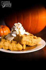 Krusteaz Pumpkin Pancake Mix Where To Buy by Pumpkin Belgian Waffles Breakfast Favorite Family Recipes