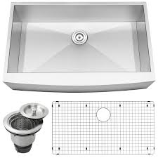 Where Are Ticor Sinks Manufactured by Ticor S4412 Stainless Steel Apron Undermount Single Bowl Kitchen