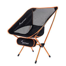 Sportneer Portable Lightweight Folding Hiking Picnic Camping Chair ... 22x28inch Outdoor Folding Camping Chair Canvas Recliners American Lweight Durable And Compact Burnt Orange Gray Campsite Products Pinterest Rainbow Modernica Props Lixada Portable Ultralight Adjustable Height Chairs Mec Stool Seat For Fishing Festival Amazoncom Alpha Camp Black Beach Captains Highlander Traquair Camp Sale Online Ebay