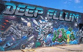 art photo essay of deep ellum dallas texas