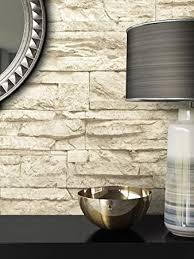 steintapete vlies beige schöne edle tapete im steinmauer design moderne 3d optik für wohnzimmer schlafzimmer oder küche inklusive der