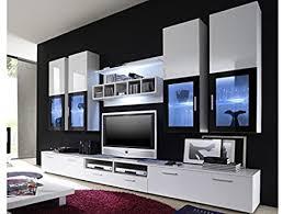 Anbauwand Wohnzimmer Mã Bel Moderne Wohnwand Vitrine Anbauwand Wohnzimmer Möbel Weiß
