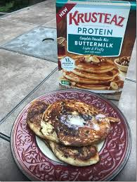 Krusteaz Pumpkin Pancakes by New Krusteaz Protein Pancake Mix Review U0026 Giveaway Momstart