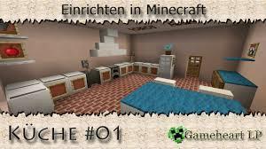 minecraft küche 01 einrichten in minecraft