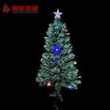 Hong Kong Hang Christmas Colorful Decoration 15 M Fiber Optic Tree