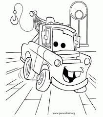 Lightning Mcqueen Coloring Page Free Pages Printable Style