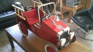 FD Fire Truck Kids Pedal Car Made By MarQuant - YouTube Goki Vintage Fire Engine Ride On Pedal Truck Rrp 224 In Classic Metal Car Toy By Great Gizmos Sale Old Vintage 1955 Original Murray Jet Flow Fire Dept Truck Pedal Car Restoration C N Reproductions Inc Not Just For Kids Cars Could Fetch Thousands At Barrett Model T 1914 Firetruck Icm 24004 A Late 20th Century Buddy L Childs Hook And Ladder No9 Collectors Weekly Instep Red Walmartcom Stuff Buffyscarscom Page 2