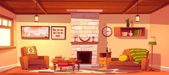 west wohnzimmer leer westlichen stil interieur