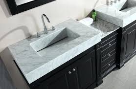 Two Faucet Trough Bathroom Sink by Sinks Small Trough Bathroom Sink With Two Faucets Bar Mount