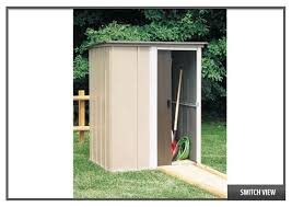 Rubbermaid Roughneck Storage Shed 5ft X 2ft by Garden Sheds 5x4 Interior Design