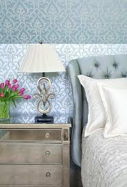 Light Blue Bedroom Decor In Classic Style