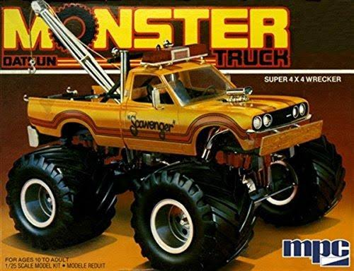 MPC 1:25 Scale Datsun Monster Truck Plastic Model Kit