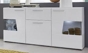 sideboard kommode hochglanz weiß anrichte 170 cm wohnzimmer