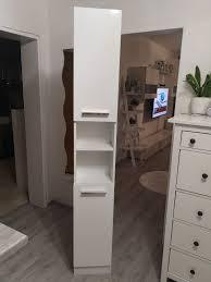 badezimmerschrank hochschrank weiß in 53117 bonn for 8 00