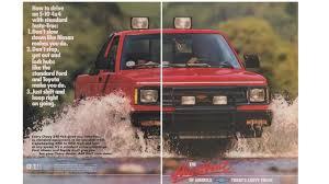 100 Chevy Truck 4x4 Amazoncom Magazine Print Ad Red 19871988 S10 4X4 Pickup