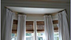 Menards Window Curtain Rods by Incredible Corner Bay Window Curtain Rods Also Bay Window Curtain