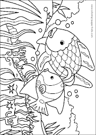 Two Fish Color Page Best Ideas Of Rainbow Coloring