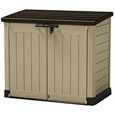 Suncast Resin Glidetop Outdoor Storage Shed Bms4900 by Amazon Com Suncast Gs17500 Premium Multi Purpose Storage Shed