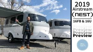 100 Airstream Truck Camper 2019 Nest Compact Travel Trailer Preview Video YouTube