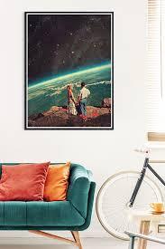 frank moth liebe wandgestaltung wohnzimmer poster