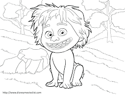 The Good Dinosaur Coloring Pages Pictures To Print Train King Printable Full Size