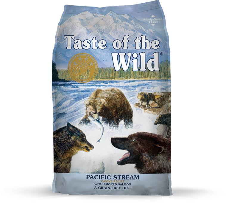 Taste of the Wild Pacific Stream Grain Free Dry Dog Food - 30lbs