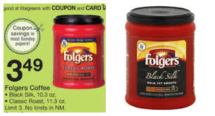 Folgers Coffee Only 299 Ea At Walgreens