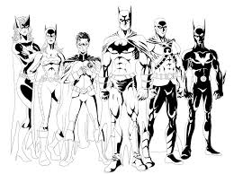 Bat Family Inked By Phil Cho