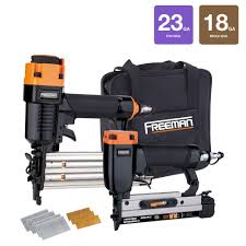 18 Gauge Floor Nailer Home Depot by Freeman Professional Woodworker Special Kit With Fasteners 2