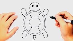 Como Dibujar Una Tortuga Muy Facil YouTube