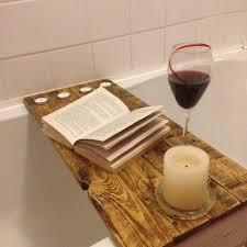 diy bathtub caddy with reading rack best 25 bath shelf ideas on bath caddy farmhouse