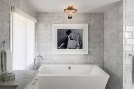 Chandelier Over Bathroom Vanity by Contemporary Bathroom Inspirations For Sweet Your Home Featuring